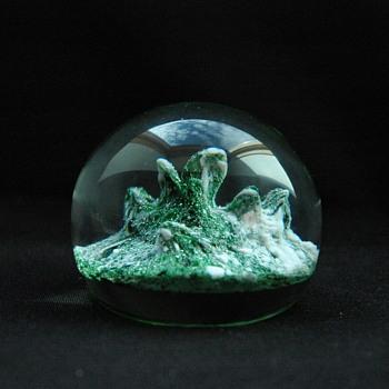 presse papier en cristal, Manufacture baccarat - epoque XIXe - Art Glass