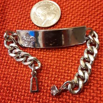 BOY SCOUTS bracelet, TIPPECANOE '58 - Sporting Goods