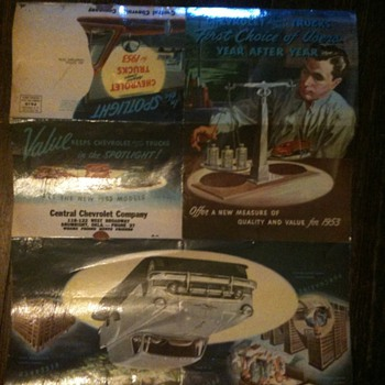 1953 Chevy Truck Ad, Poster & Mailer - Advertising