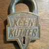 Keen-Kutter padlock
