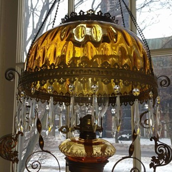 Hanging oil lamp - Lamps
