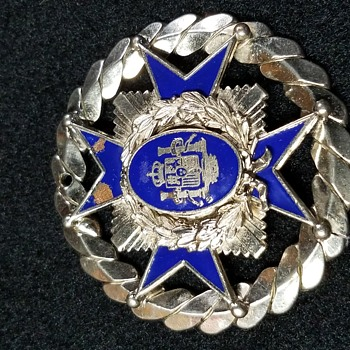 Vintage medal or pendant Spain Coat of arms