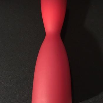 Vintage Swedish glass vase  - Art Glass