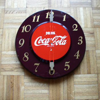 1950's coca cola clock - Clocks