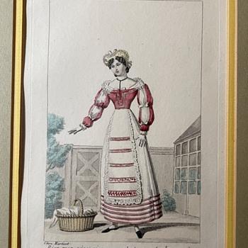 """Petite Galerie Dramatique, ou Recueil de différents Costumes d'Acteurs des Théâtres de la Capitale"""" - Posters and Prints"""