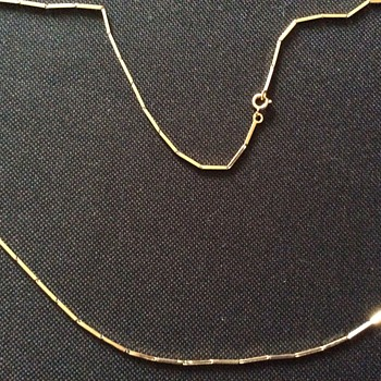 Vintage gold necklace - Fine Jewelry