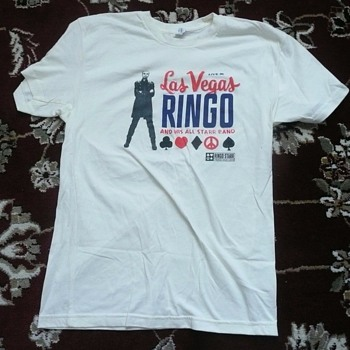 Ringo's personally owned Las Vegas shirt-2013 - Music Memorabilia