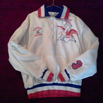 Vintage Budweiser Anheuser-Busch National Softball Champions Player Jacket - Breweriana