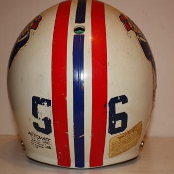 1984 Andre Tippett Helmet