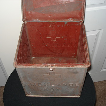 "Early Emergency Medical Service History ""Ambulance Box"""