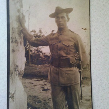 VERY EARLY 1903 USMC Marine Corps RPPC from CUBA!!! - Military and Wartime