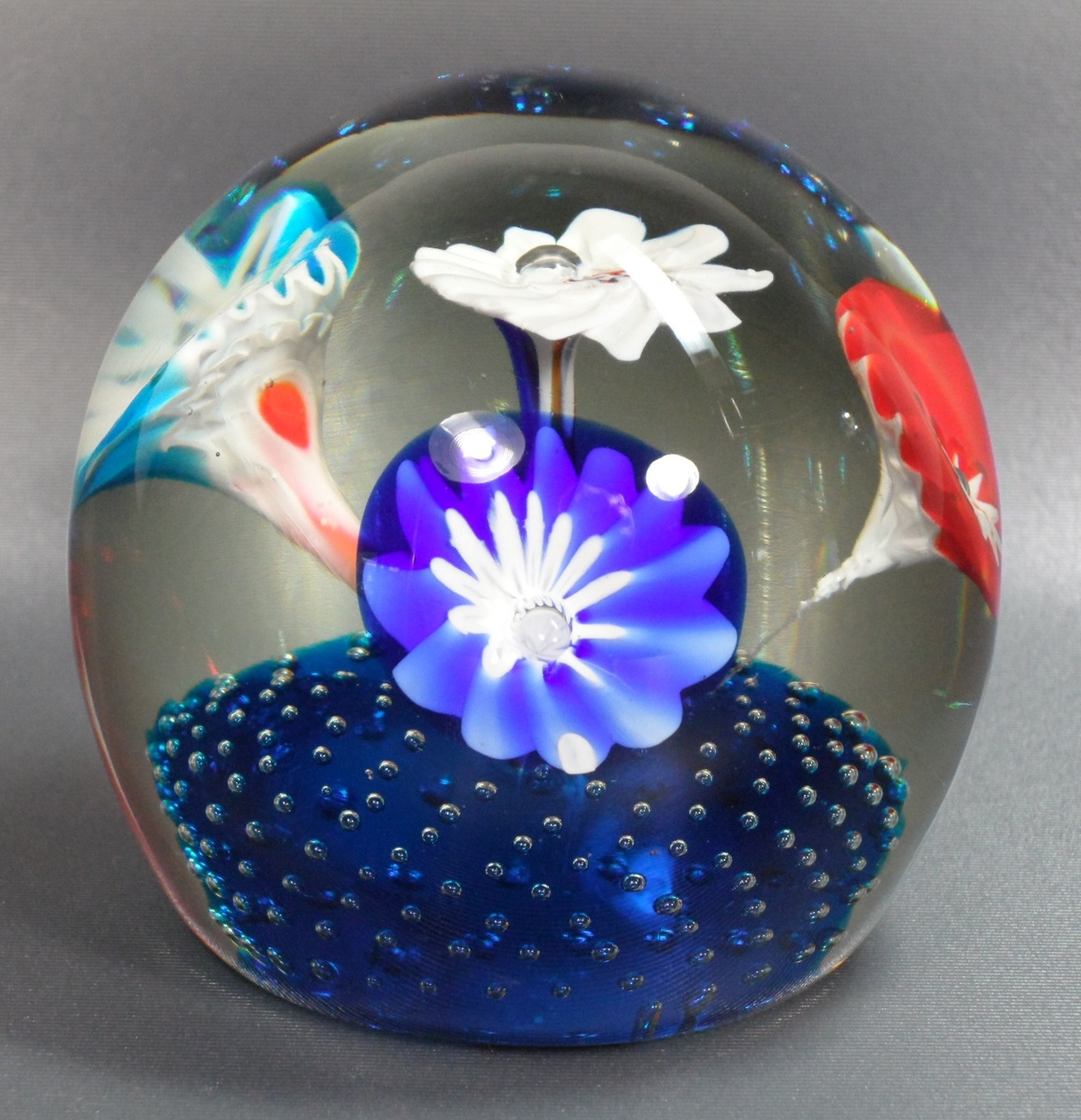Fratelli toso trumpet flower paperweight collectors weekly 18 mightylinksfo