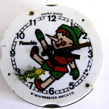 Pinocchio Wrist Watch