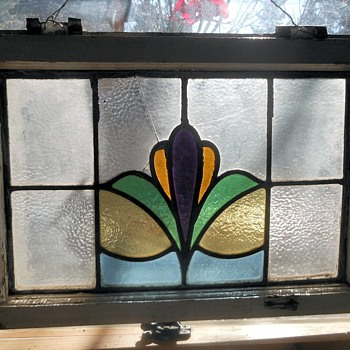 Possible Antique Stained Glass Window - Art Glass