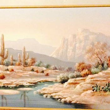 Lee Reynolds Canvas Painting - Fine Art