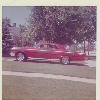 1962 Red Chevrolet Impala - Photographs