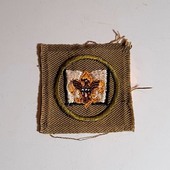 Saturday Evening Scout Post Librarian Position Patch 1946-1954 - Medals Pins and Badges