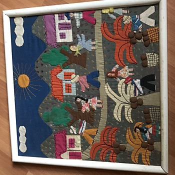 Framed Textile Life - Rugs and Textiles