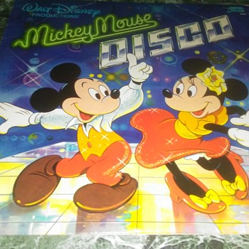 Mickey Mouse...On 33 1/3 RPM Vinyl - Records