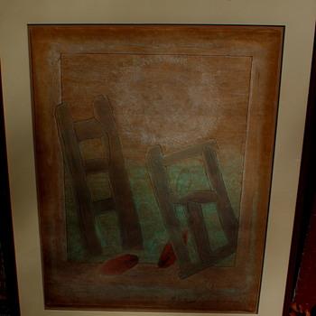 Oil Painting ..40/75 - Fine Art