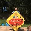 Sunbeam Bread sign 1962