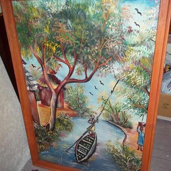 Help identify this painting... - Folk Art