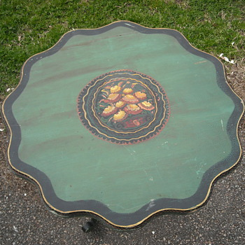 tilt top candle table