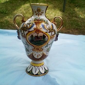 Mystical lamp base - Pottery