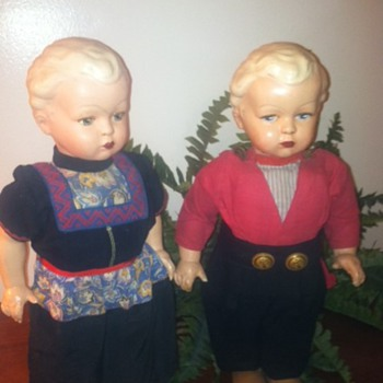 Dolls from Holland early 1950's - Dolls