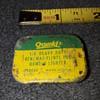 teeny tiny old advertising tins #2, OXWELD RENEWAL FLINTS