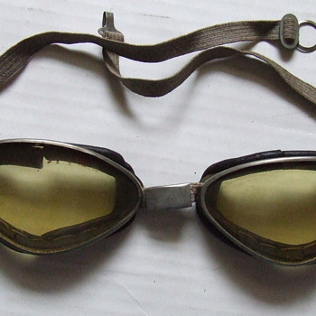 1930's motorcycle goggles
