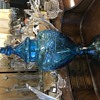 "Tall 30"" whiskey decanter"