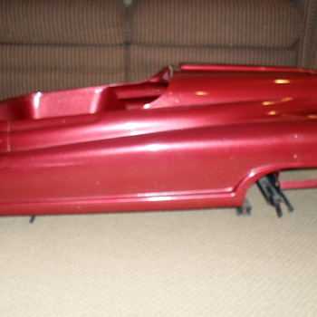 My 1949 or 1950 Fire Chief Pedal Car.  - Model Cars
