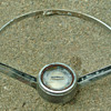 Steering wheel Vintage 1/2 of a wheel