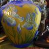 LA ROCHERE CAMEO GLASS LAMP FRANCE
