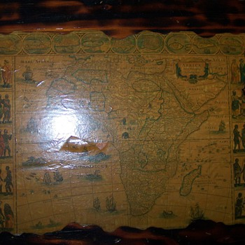 old map of the middle east - Paper