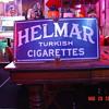 Helmar Turkish Cigaretts Porcelain Sign...Two Colors