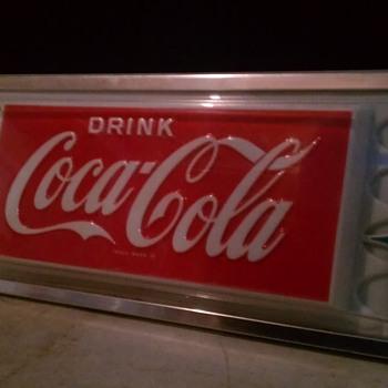Original Coca-Cola Vending Signage - Coca-Cola