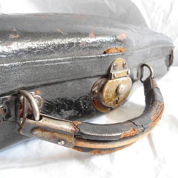 Antique Bullshead Violin Case - Music Memorabilia