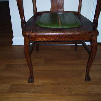 My Mahagony Chair Vacation Find - Furniture