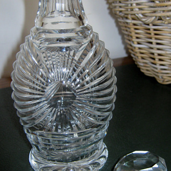 OLD? crystal DECANTER?