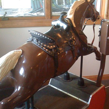 Drug Store Horse - Coin Operated