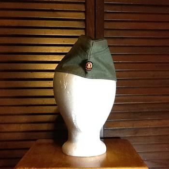 East German side cap
