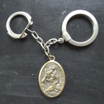 At-Deco St. ChristopherKeychain..... - Fine Jewelry