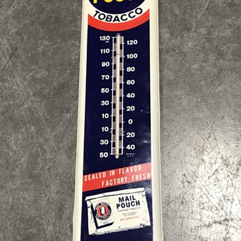 Mail Pouch  thermometer   - Advertising