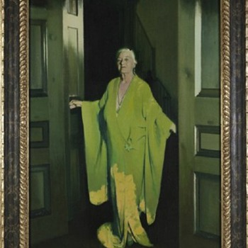 """The Green Lady""  Cornelia ""Nell"" Flint Cousins Egan By John Northcross Dark Shadows Connection - Fine Art"