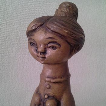 Margit Kovacs Figurine - Pottery