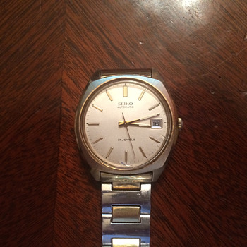 "The Only Wristwatch I Will Ever Need: My Grandfather's ""Sunday Watch."" A 1975 Seiko. - Wristwatches"