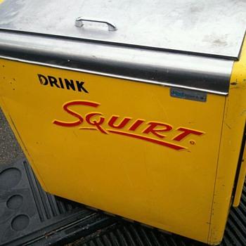 Ideal Slider Squirt Machine  - Advertising