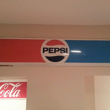 Pepsi sign - Signs